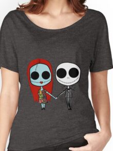 Jack and Sandy - The Nightmare Before Christmas Women's Relaxed Fit T-Shirt