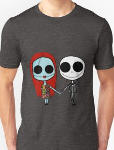 Jack and Sandy - The Nightmare Before Christmas Unisex T-Shirt