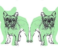 Theo the Frenchie by KatHassell