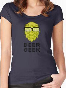 Beer Geek Women's Fitted Scoop T-Shirt