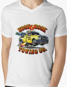 Hook & Book Towing Co. Mens V-Neck T-Shirt