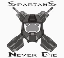 Spartans never die  by eviledna215
