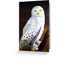 Harfang des Neiges (Snow Owl) Greeting Card
