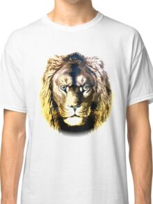 Lion, vector art Classic T-Shirt