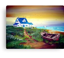 Once upon a time on the Coast... Canvas Print