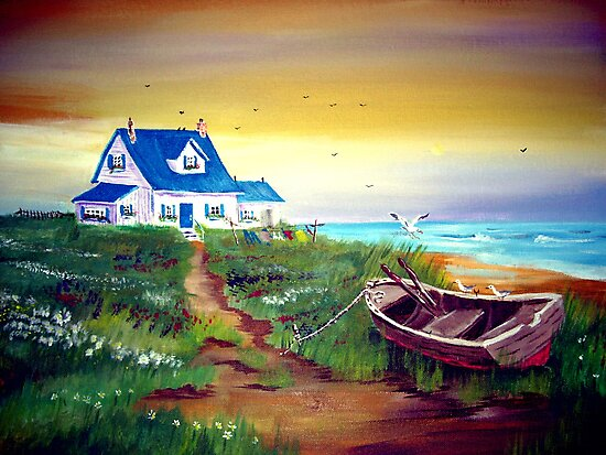 Once upon a time on the Coast... by Anne Guimond