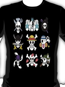 The Straw Hat Crew's Jolly Roger T-Shirt