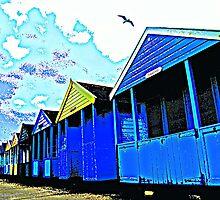 Seagull Huts by janett8