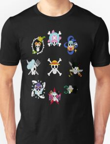 The Straw Hat Crew's Jolly Roger Post Time Skip Unisex T-Shirt