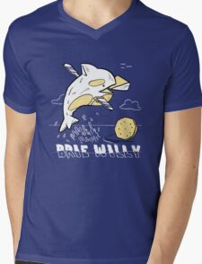 Brie Willy (PUN PANTRY) Mens V-Neck T-Shirt