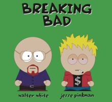 Breaking Bad as South Park - Walter White - Jesse Pinkman by D4RK0