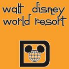 Walt Disney World Resort Retro 007 Black by AngrySaint