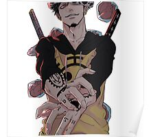 Trafalgar D. Law King of  Hearts Poster