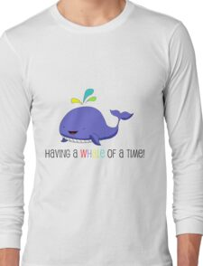 Having a WHALE of a Time! T-Shirt