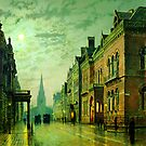 John Atkinson Grimshaw   Park Row Leeds (1882) by Adam Asar