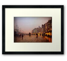 John Atkinson Grimshaw  Liverpool from Wapping (1885) Framed Print