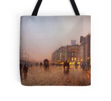 John Atkinson Grimshaw  Liverpool from Wapping (1885) Tote Bag