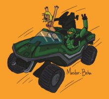 Halo: Master Beta and his Warthog by Extreme-Fantasy
