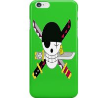 Roronoa Zoro's Jolly Roger Post Time Skip iPhone Case/Skin