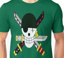 Roronoa Zoro's Jolly Roger Post Time Skip Unisex T-Shirt