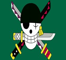 Roronoa Zoro's Jolly Roger Post Time Skip Unisex T-Shirt