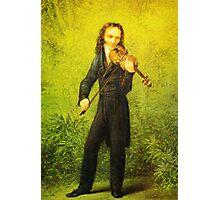 Kersting Der Geiger Nicolo Paganini Photographic Print