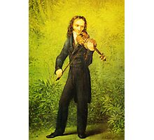 Kersting Der Geiger Nicolo Paganini Photographic Print
