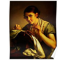 lace maker Poster
