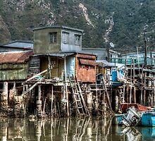 Tai O Fishing Village by Graham Ettridge