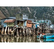 Tai O Fishing Village Photographic Print