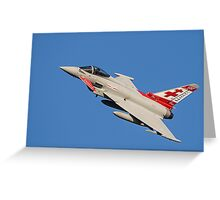 Eurofighter Typhoon ZK315 Greeting Card