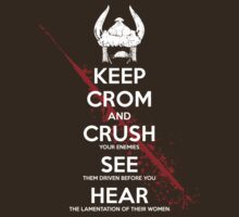 KEEP CROM by SenseiMonkeyboy