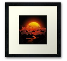 Ride of the valkyries Framed Print