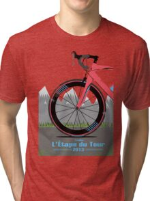 L'Étape du Tour Bike Tri-blend T-Shirt