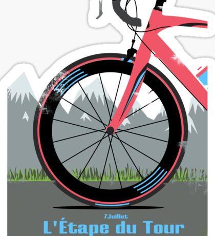 L'Étape du Tour Bike Sticker