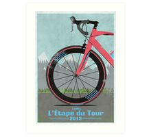L'Étape du Tour Bike Art Print