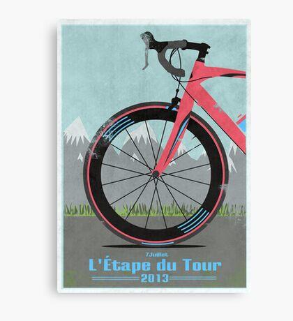 L'Étape du Tour Bike Canvas Print