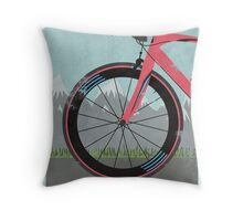 L'Étape du Tour Bike Throw Pillow