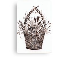 The Goodies Basket Canvas Print