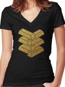 Illusory Women's Fitted V-Neck T-Shirt