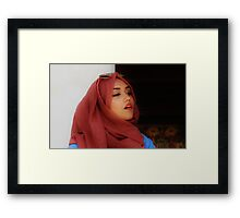 moroccan  muse  Framed Print