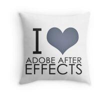 I love AE Throw Pillow
