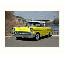 1957 Chevrolet Bel Air Art Print