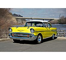 1957 Chevrolet Bel Air Photographic Print