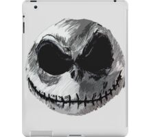Jack Skellington Face 2 - The Nightmare Before Christmas iPad Case/Skin
