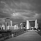 La Defense, Paris by Nigel Bryan