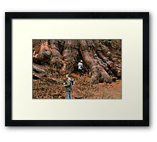 Righteous Roots Framed Print