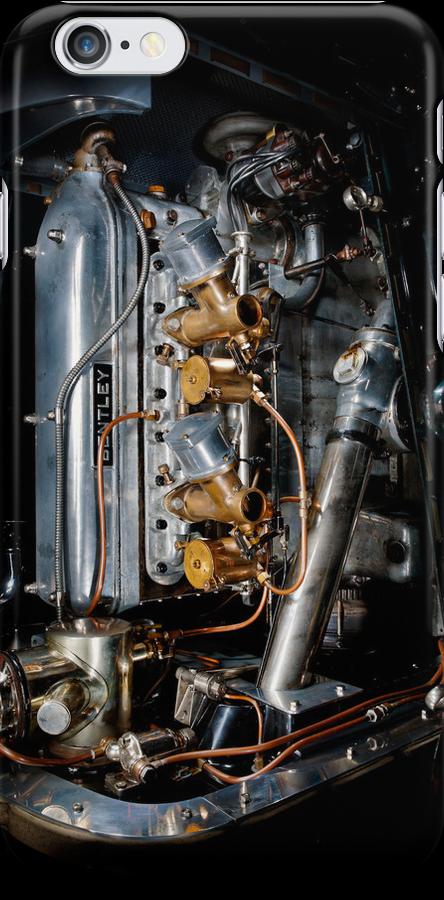 4.5 Litre Bentley Engine by Frank Kletschkus