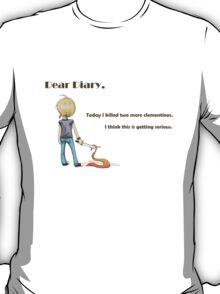 Dear Diary (dark text) T-Shirt