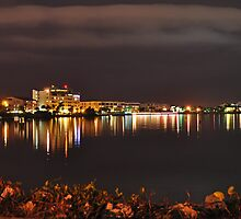 Punta Gorda Fisherman's Village Waterfront  by John  Kapusta